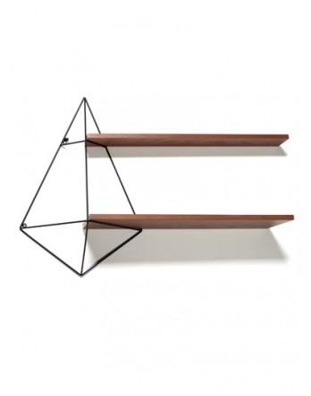 Serax Butterfly shelf bruin hout dubbel 96X22 H64