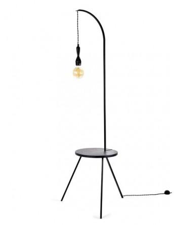 Serax Tafel Lamp Studio Simple zwart D50 H160