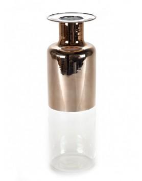 Serax Vaas Fles Gold glas Giorgio Large D11 H36