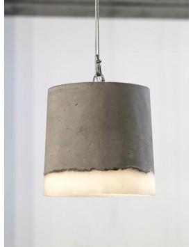 Serax Lamp / Hanglamp - XL - beton / siliconen - R. Vos