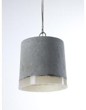 Serax Lamp / Hanglamp L - beton / siliconen - R. Vos