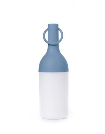 Sompex Elo tafellamp fles oplaadbaar - blauw