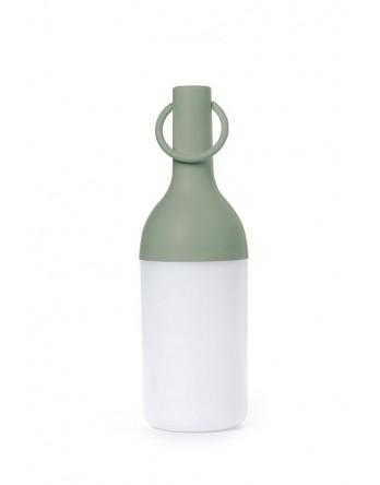 Sompex Elo tafellamp fles oplaadbaar - groen