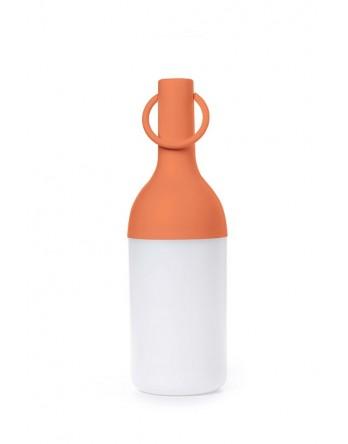 Sompex Elo tafellamp fles oplaadbaar - oranje