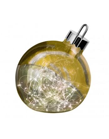 Sompex Ornament LED kerstbal goud Ø 30 cm