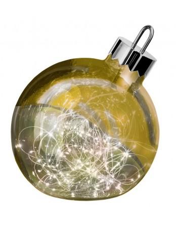 Sompex Ornament LED kerstbal goud Ø 25 cm