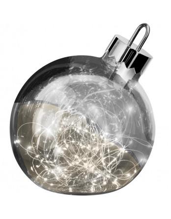 Sompex Ornament LED kerstbal smoke Ø 25 cm