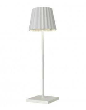 Sompex Troll LED tafellamp accu - binnen / buiten - wit