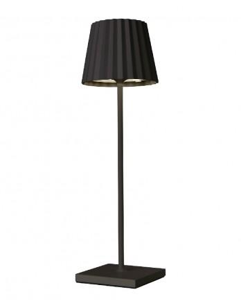 Sompex Troll LED tafellamp accu - binnen / buiten zwart