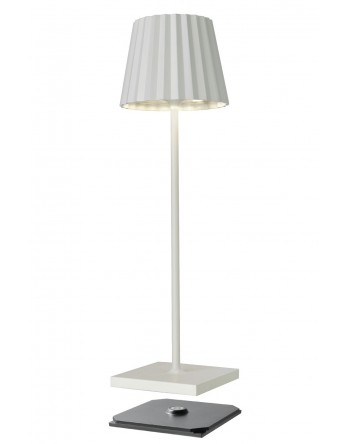 Sompex Troll 2.0 LED tafellamp accu - binnen / buiten - wit