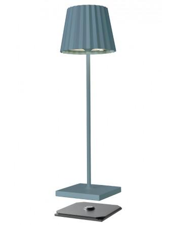Sompex Troll 2.0 LED tafellamp accu - binnen / buiten - blauw