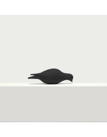 Pero bladwijzer - boekenlegger - duif etend - zwart