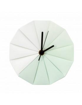 Pepe Heykoop - Take Time wandklok groen wit