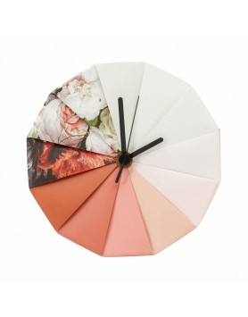 Pepe Heykoop - Take Time klok - stilleven bloemen