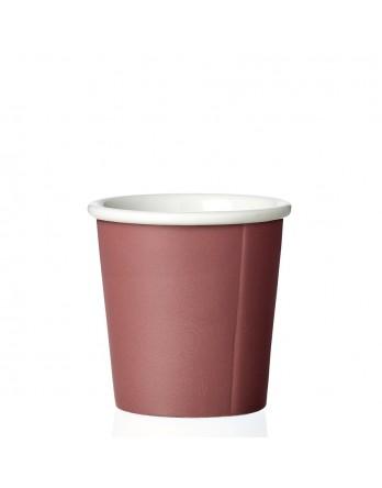 Viva Anytime papercup Anna - espressomok - nordic brick