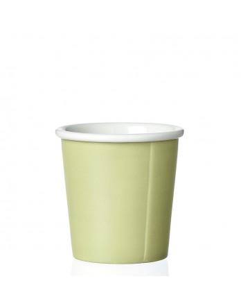 Viva Anytime papercup Anna - espressomok - spring leaf