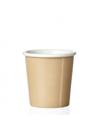 Viva Anytime papercup Anna - espressomok - warm sand
