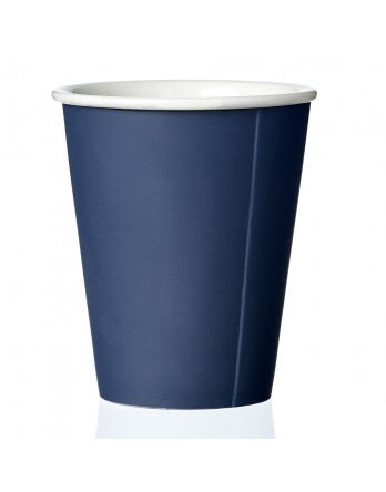 Viva Anytime papercup Laura - koffiemok - dark ocean