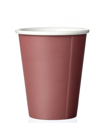 Viva Anytime papercup Laura - koffiemok - nordic brick