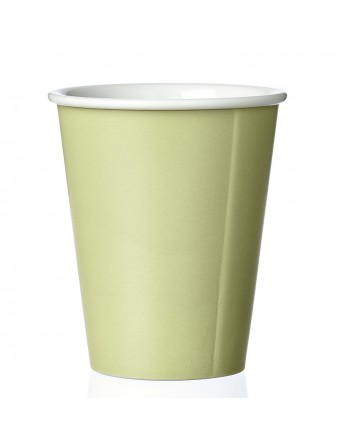 Viva Anytime papercup Laura - koffiemok - spring leaf