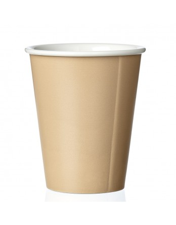 Viva Anytime papercup Laura - koffiemok - warm sand