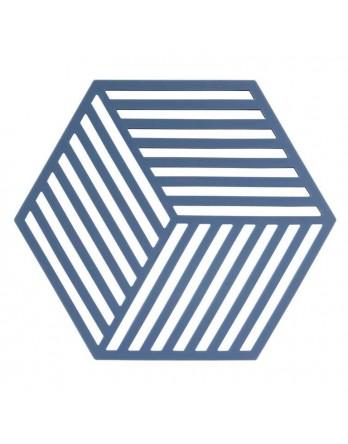 Zone Denmark pannen onderzetter Hexagon denim