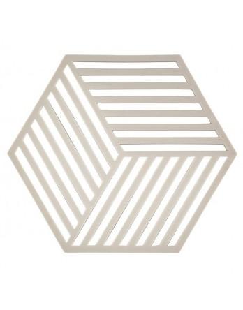 Zone Denmark pannen onderzetter Hexagon grijs