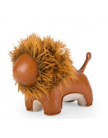 Züny boekensteun lion / leeuw bruin