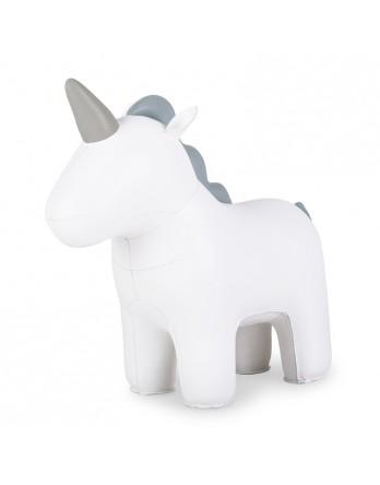 Züny Unicorn Nico deurstop - eenhoorn - wit