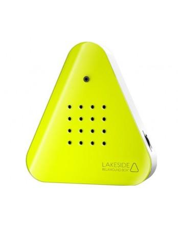 Lakesidebox idyllisch bosmeer - fluor geel