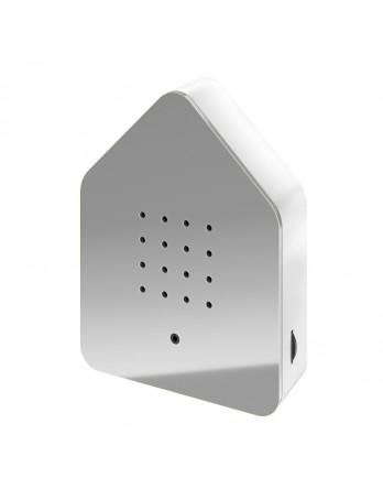 Zwitscherbox classic vogelhuisje sensor - grijs