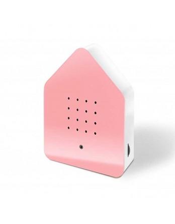 Zwitscherbox classic vogelhuisje sensor - roze
