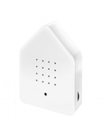 Zwitscherbox classic vogelhuisje sensor - wit