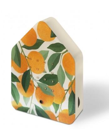 Zwitscherbox vogelhuisje sensor special orange