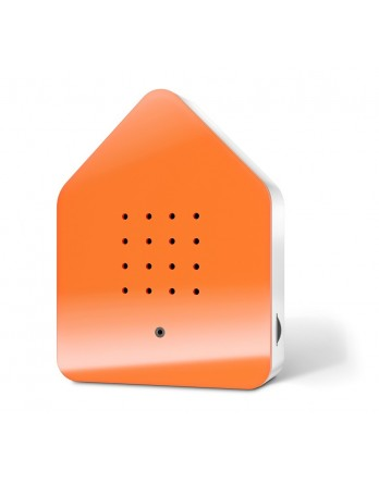 Zwitscherbox classic vogelhuisje sensor - oranje