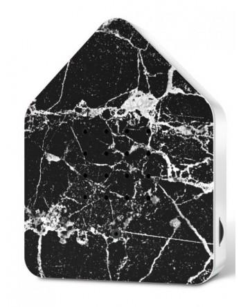 Zwitscherbox vogelhuisje special zwart marmer