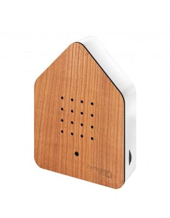 Zwitscherbox Wood vogelhuisje sensor kersen / wit